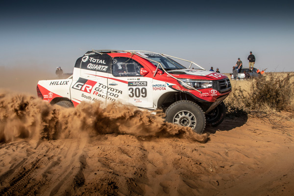 Toyota Gazoo SA Cross Country Dakar